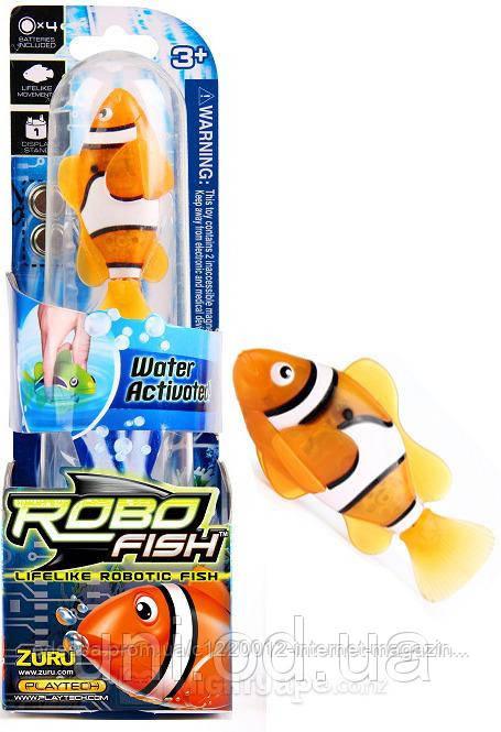 33a772e4c4bf9a Игрушка интерактивная рыбка