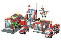 Конструктор Пожарная Станция BLOCKI 774 элемента
