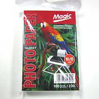Фотобумага Magic  A6 Glossy Photo Paper 100л 230г/м2 глянец