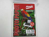 Фотобумага Magic  A6 Glossy Photo Paper 50л 200г/м2 глянец