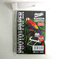 Фотобумага Magic  A6 RC  Photo Paper  50л 260г/м2 суперглянец