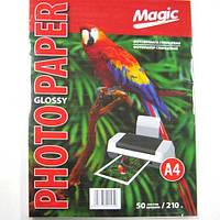 Фотобумага Magic A4 Glossy Photo Paper  50л 210г/м2 глянец