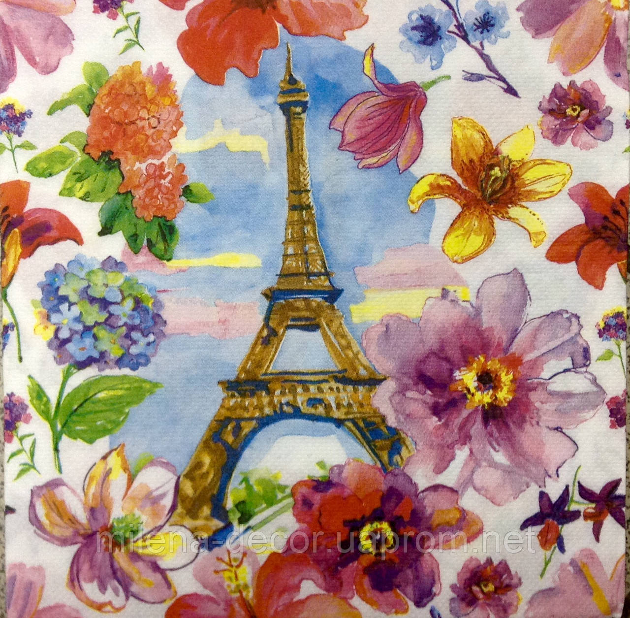 Салфетка для декупажа Париж (33*33 см.)