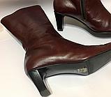 Красивые кожаные итальянские сапоги tendance 40 р, фото 2