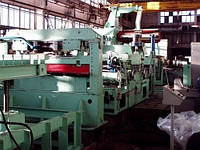Линия агрегат продольной резки металла и (или) агрегат попереречной резки металла.