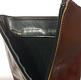 Красивые кожаные итальянские сапоги tendance 40 р, фото 5