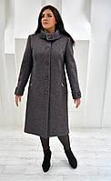 Пальто женское меланж Л-565
