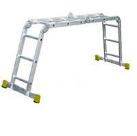 Лестница шарнирная FORTE FE 4x3