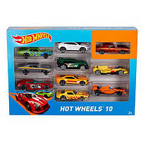 Подарочный набор из 10-ти автомобилей Hot Wheels (54886)