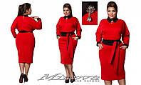 Платье №023-красный