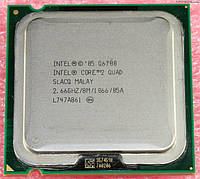 Intel Core 2 Quad Q6700 2.66GHz/1066/8M s775. SLACQ +паста