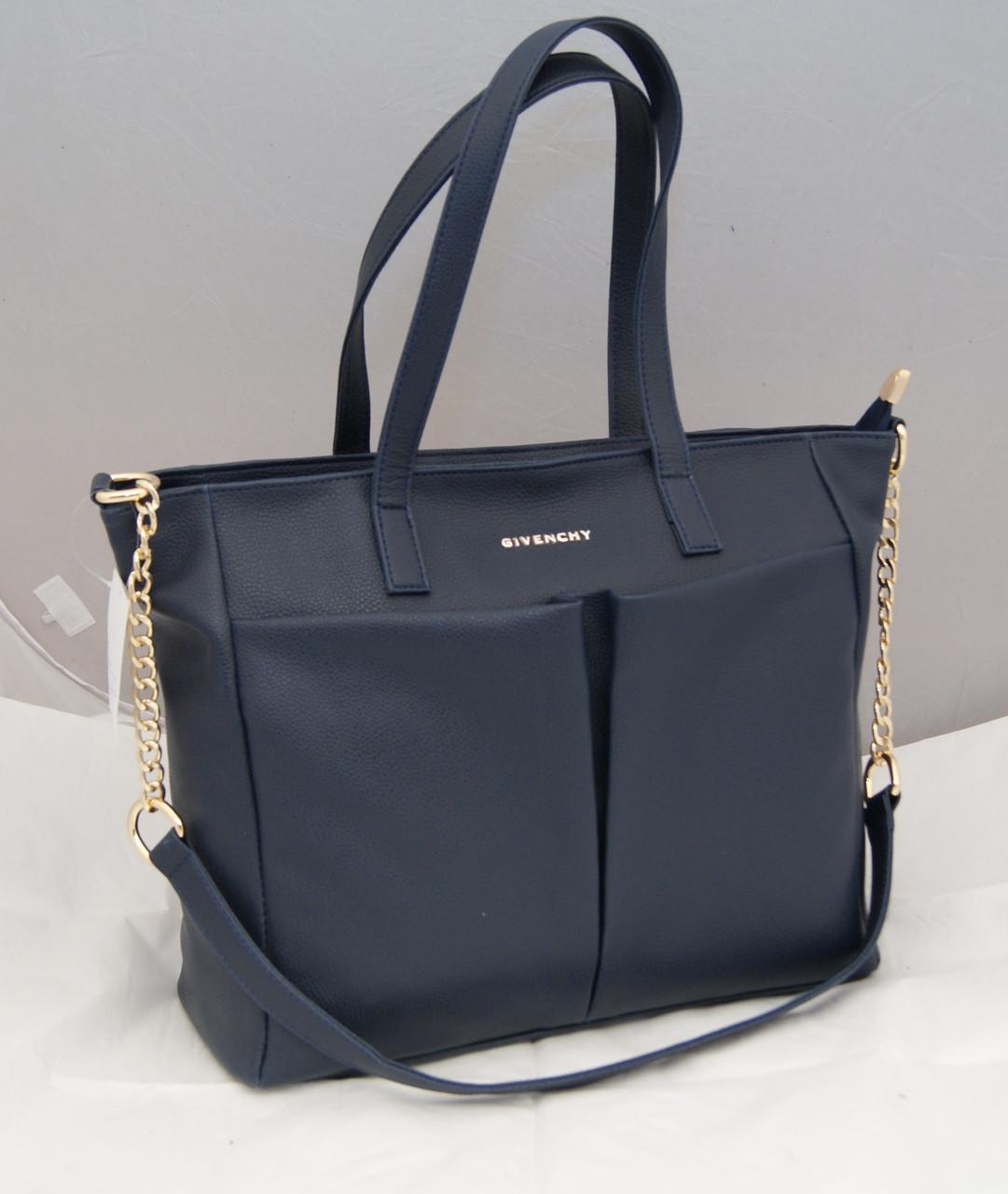 Женская сумка Givenchy, цвет синий Живанши