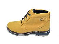 Мужские Ботинки зимние на меху S.T Fashion Sart 721 Yellow р: 42 43