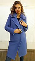 Зимнее женское пальто  кашемировое