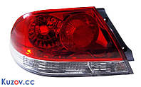 Фонарь задний Mitsubishi Lancer 9 04-09 левый (Depo) красно-белый MN161195