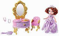 "Набор Disney Sofia The First ""Собираемся на Бал"". Со звуком.Кукла в наборе. Оригинал., фото 1"