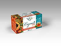 Чай черный с ароматом Экзотические фрукты