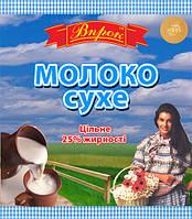 """Молоко сухое 25% 150 г  ТМ """"Впрок"""""""
