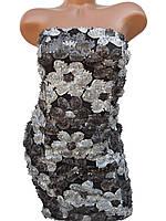 Красивые женские платья (серый,чёрный 44,46), фото 1