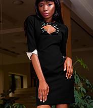 Женское платье с вырезом в зоне декольте (Клориjd), фото 3