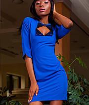 Женское платье с вырезом в зоне декольте (Клориjd), фото 2