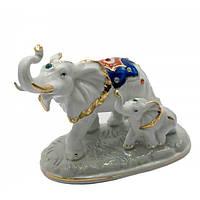 Статуэтка пара слонов стильная