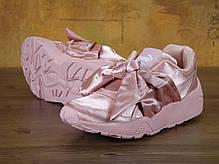 Кроссовки женские пума Puma Fenty By Rihanna Bow Sneaker Pink . ТОП Реплика ААА класса., фото 3