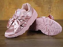 Кроссовки женские пума Puma Fenty By Rihanna Bow Sneaker Pink . ТОП Реплика ААА класса., фото 2
