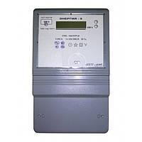 Счетчик электроэнергии CTK3-10A1H4P.t «Энергия-9» трехфазный 5 А 3×220/380 В многотарифный, Телекарт-Прибор
