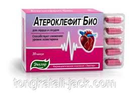 Атероклефит БИО, капсулы №30 по 250 мг блистер