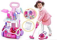 Детский игровой набор для уборки Magical cleaner (с тележкой)