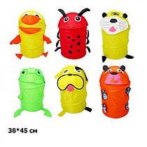 Корзина для игрушек ВТ - ТВ - 0004 микс видов животные 38*45 в кульке