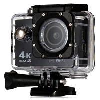 Экшн-камера V3 4K WiFi Sport Camera 16MP (BLACK)