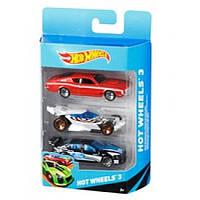 Подарочный набор из 3-х автомобилей Hot Wheels (K5904)