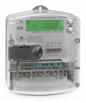Счетчик электроэнергии NIK 2303 ARP3.1000.M.11, 5(120)А