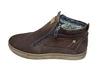 Мужские ботинки зимние на меху Multi Shoes Top Brown размеры: 40 41 42 43 44 45