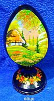 Петриковская роспись Яйцо деревянное сувенирное