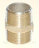Ниппель нержавеющий шестигранный G¼'' AISI304 Ду08, фото 4