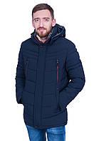 Мужская утепленная куртка на зиму Black wolf 1731