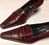 Туфли женские кожаные 38 р, фото 2