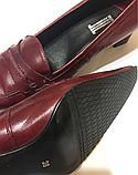 Туфли женские кожаные 38 р, фото 5
