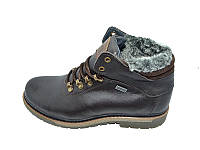 Мужские ботинки зимние на меху Multi Shoes Dion Brown размеры: 40 41 42 43 44 45