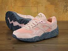 "Кроссовки женские пума  Puma Winterized R698 ""Coral Cloud Pink"". ТОП Реплика ААА класса., фото 2"