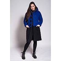 Пальто Black Square (blue) Зима