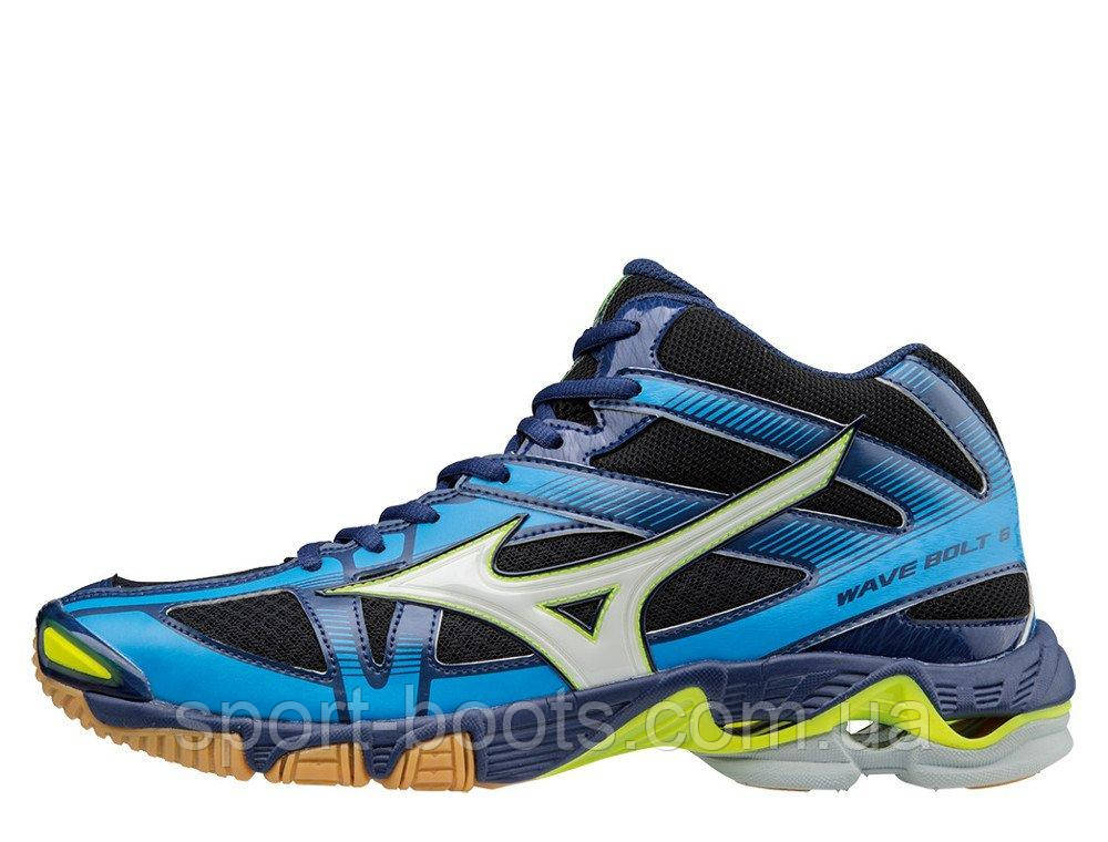 Оригинальные волейбольные кроссовки Mizuno Wave Bolt 6 MID - Sport-Boots -  Только оригинальные товары 172610dd6ca
