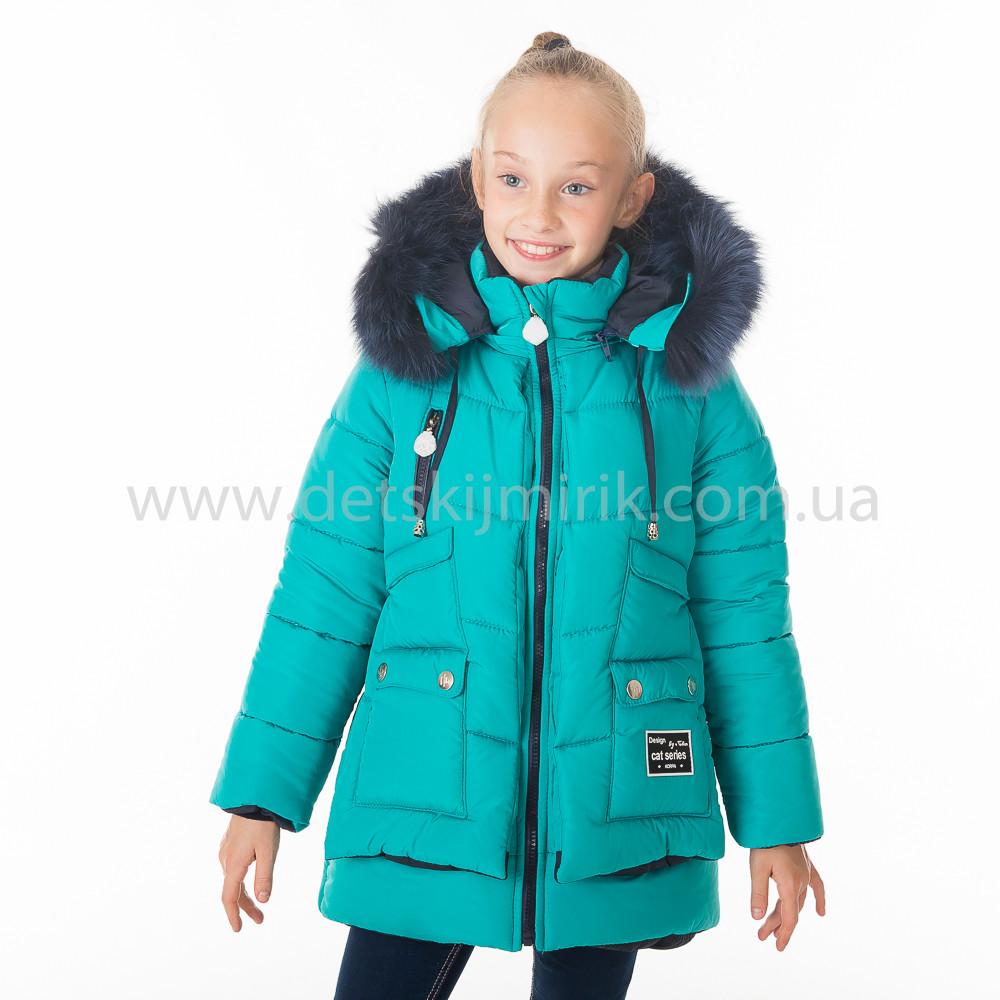 """Зимняя куртка для девочки """"Поля """",Зима 2018, фото 1"""