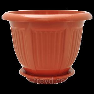 Цветочный горшок «Волна» (Алеана) 28х22