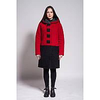 Пальто Black Square (red) Зима