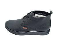 Мужские зимние ботинки с нат. кожи Braxton Stael R1 Black размеры: 40 41 42 43 44 45