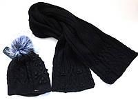 Комплект  Брекстон шапка и шарф